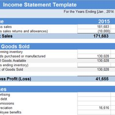 Cash Flow Statement Excel Template Is Being Use Through The