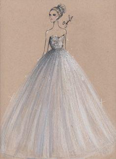 The Vintage Duchess : Photo Fashion Illustration Face, Illustration Mode, Illustrations, Fashion Prints, Fashion Art, Fashion Outfits, Fashion Design Drawings, Fashion Sketches, Wedding Dress Sketches