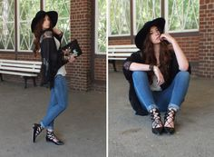 Fashion Love: GHILLIE SANDALS, LACE KIMONO JACKET & BAMBI CLUTCH