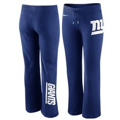 Women's New York Giants Nike Royal Blue Warpspeed All Time Full ...