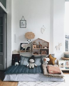 We all know how difficult it is to decorate a kids bedroom. A special place for any type of kid, this Shop The Look will get you all the kid's bedroom decor ide Baby Bedroom, Baby Boy Rooms, Little Girl Rooms, Baby Room Decor, Girls Bedroom, Nursery Boy, Childs Bedroom, Trendy Bedroom, Bedrooms