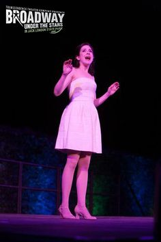 """Leah Horowitz performs """"I Could Have Danced All Night"""" from """"My Fair Lady"""" at Transcendence Theatre Company's Broadway Under The Stars in Jack London State Park - Sonoma, Napa, Wine Country http://www.transcendencetheatre.org/ Photo By Ray Mabry"""