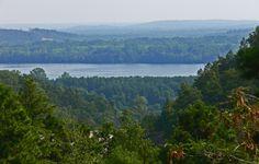 View of the Arkansas River in Arkansas