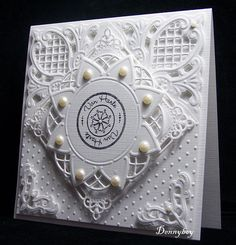 Marianne Design Hand Made Greeting Cards, Making Greeting Cards, Marianne Design Cards, Tattered Lace Cards, Spellbinders Cards, Die Cut Cards, Some Cards, Heart Cards, Scrapbook Cards