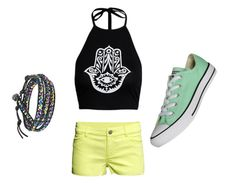 """So me"" by ains9 on Polyvore featuring beauty, H&M, Converse and AeraVida"