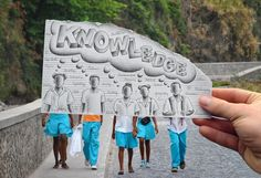 """""""knowledge"""" lovely creative art by ben heine...checkout his work!"""