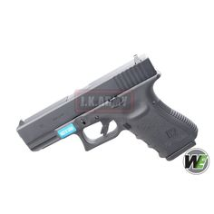 WE G19 Metal Slide GBB Pistol ( Black ) ( WE Marking )