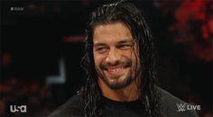 Roman Reigns smile :) (Tumblr)