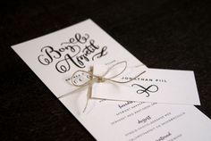 Bryllupsinvitationer fra mishu studio.  Wedding stationery by mishu studio.