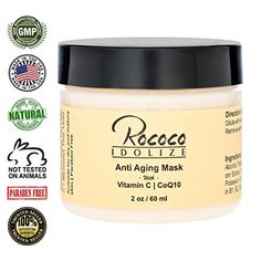 Anti Aging Mask with Vitamin C and CoQ10  2oz * Continue to the product at the image link.