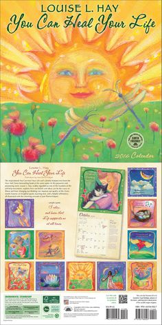 cdaeeba4fa You Can Heal Your Life 2016 wall calendar features text from the New York  Times best
