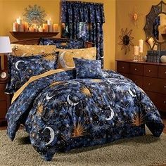 Love this room/the decor and the bedding!