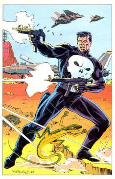 The Punisher, Punisher Comics, Marvel Dc Comics, Book Cover Art, Comic Book Covers, Comic Books, Free Comics, Geek Art, Geek Culture