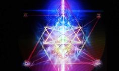 Beautiful spiritual artwork of Merkaba meditation technique.