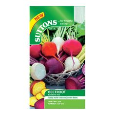 Suttons Beetroot Seeds, Rainbow Mix | Departments | DIY at B&Q