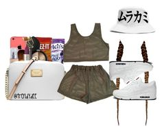 """""""Untitled #168"""" by afrolady ❤ liked on Polyvore featuring CO and NIKE"""