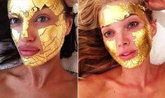 Mascarilla de oro, el secreto de los ángeles de VS para tener una piel perfecta