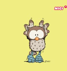 NICI:) Animal Paintings, Animal Drawings, Cute Drawings, Owl Drawings, Nici Teddy, Comics Und Cartoons, Cartoon Pics, Cartoon Picture, Cute Love Wallpapers