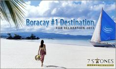Boracay Island: Top Destination For Relaxation - Boracay Boracay Island, Top Destinations, Number One, Philippines, Relax, Beautiful