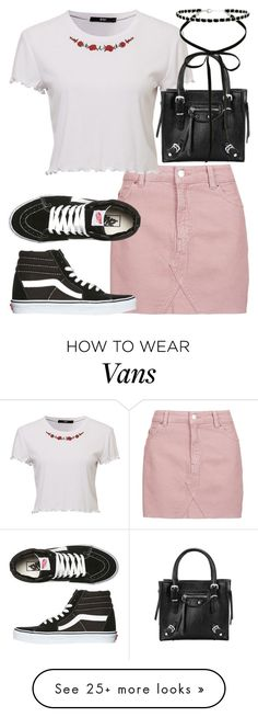 """Untitled #3130"" by bekahtee on Polyvore featuring Topshop, Vans and Miss Selfridge"
