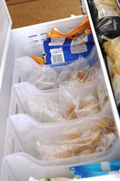 simply organized: Organized Freezer Drawers
