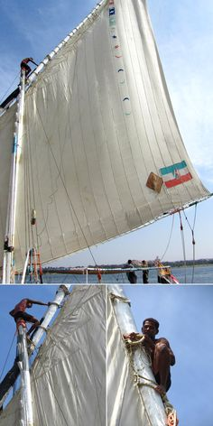 sailboat sail Photo Story: Sailing the Nile River on an Egyptian Felucca