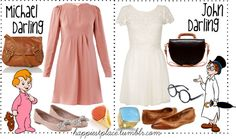 """""""Michael & John Darling"""" by disneyinspired ❤ liked on Polyvore"""