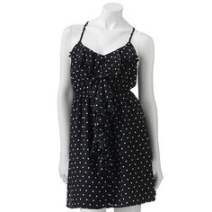 i have always wanted a polka dot dress...my friend got me this dress for my bday i love it!!!!!!!!