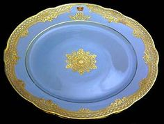 Palace Service Porcelain Plate Czarevich Alexander Alexandrovich