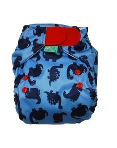 How cool is this?! Dino Print Nappy from Frugi