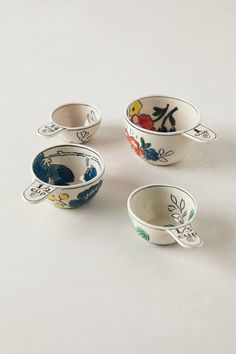 Anthropologie Molly Hatch Garden Sketch Measuring Cups #Anthrofave ... These are my absolute favorite set!