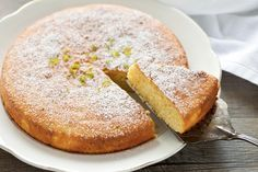 torta al limone e mandorle il cucchiaio d'argento