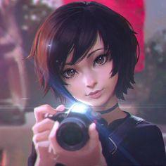 ilya kuvshinov anime girl