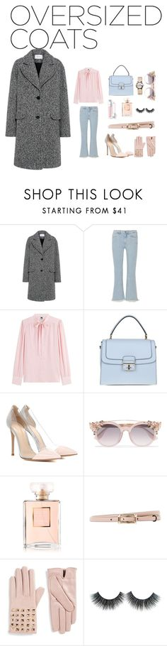 """""""Oversized coat :)"""" by sunshinetoday ❤ liked on Polyvore featuring Carven, M.i.h Jeans, M Missoni, Dolce&Gabbana, Gianvito Rossi, Jimmy Choo, Chanel, Valentino and Gucci"""