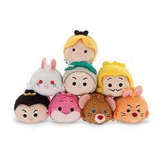 Mini peluche de la collection Tsum Tsum Alice au Pays des Merveilles   Disney Store