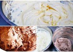 Creme pentru tort si prajituri este o colectie de creme pe care le puteti … Frosting, Icing, Cake Shop, Mousse, Fondant, Cake Decorating, Bakery, Good Food, Food And Drink