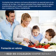 Consejos para que ayudes a tu hijo a fortalecer su imagen corporal de una manera positiva… #SemperAltius #Valores #ImagenPositiva #Educación #Familia