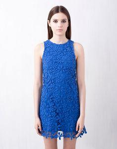 Vestido crochet - Pull & Bear
