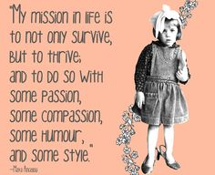 Mission statement for life