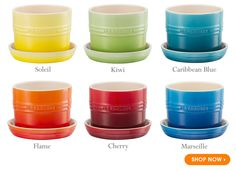 Our bright and beautiful herb planters | Le Creuset