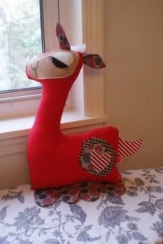 llama llama plush toy OOAK made by DunlapLove