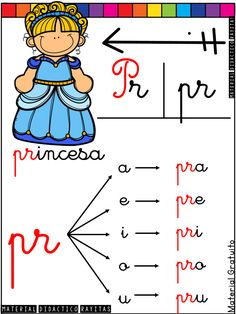 Alphabet Activities, Preschool Activities, Bilingual Education, School Colors, I School, Dory, Smurfs, Teaching, Spiderman