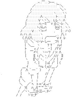 16 best ASCII Art images on Pinterest   Ascii art
