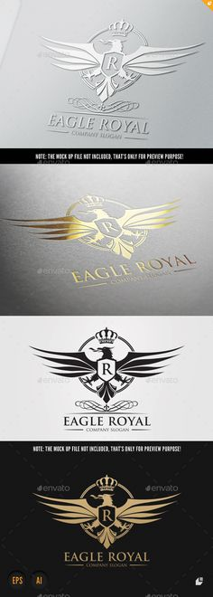 Eagle Royal Template #design #logotype Download: http://graphicriver.net/item/eagle-royal/9237339?ref=ksioks