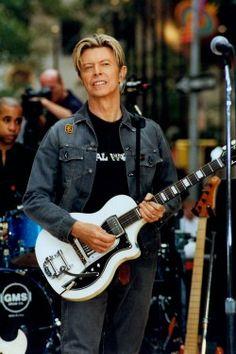 David Bowie, New York 2003