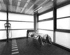 Stark and weird. Lynne Cohen's photography feels like a flipbook of Kubrick film sets. I dig it. Space Photography, Abstract Photography, White Photography, Lynn Cohen, University Of Ottawa, Blog Fotografia, In This Moment, Fine Art, Black And White