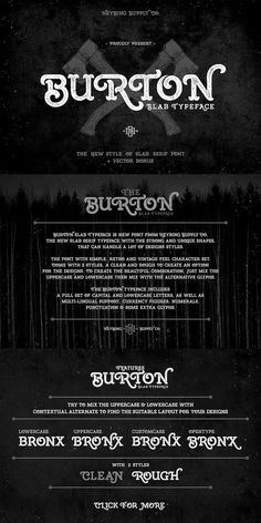 --- Burton Slab Typeface is new font from Heybing Supply Co, the new slab serif typeface with the strong and unique shapes, that can handle a lot of designs Slab Serif Fonts, Serif Typeface, Uppercase And Lowercase, Brand Guidelines, Punctuation, New Fonts, Lower Case Letters, Hand Lettering, Typography