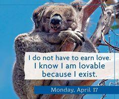 Yo sé que soy un ser amoroso por el simple hecho de que existo. https://www.arkanoezael.com  #FelizLunes  #afirmación #afirma #affirmation