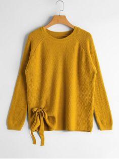 Up to 70% OFF! Raglan Sleeve Bowknot Sweater. Zaful,zaful.com,zaful online shopping, sweaters&cardigans, sweater,sweaters,cardigans,choker sweater,chokers,chunky sweater,chunky,cardigans for women, knit, knitted, knitting, knitwear, cardigan, cardigan outfit,women fashion,winter outfits,winter fashion,fall outfits,fall fashion, halloween costumes,halloween,halloween outfits,halloween tops. @zaful Extra 10% OFF Code:ZF2017