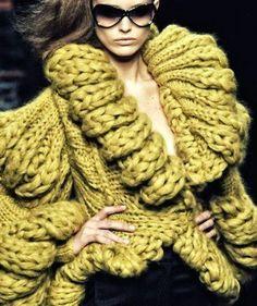 Christel's style: Chunky Knits - Fashiontelevision.nl
